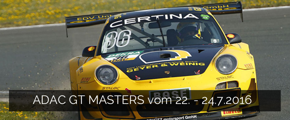 ADAC GT Masters 2016 Red Bull Ring