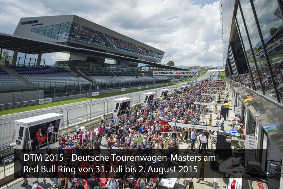 DTM 2015 am Red Bull Ring
