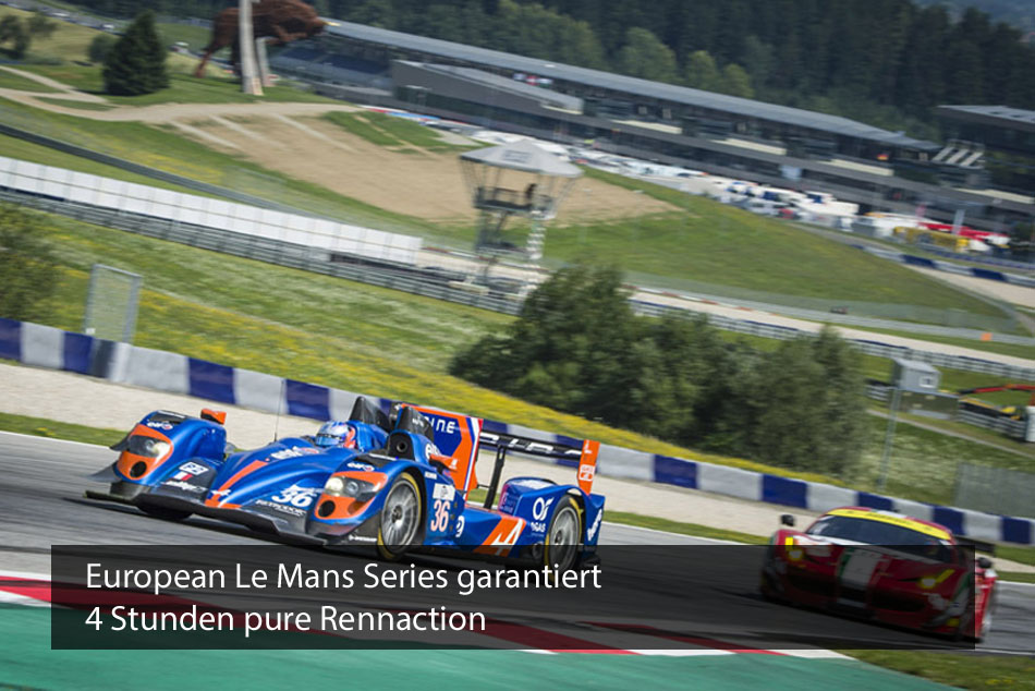 ELMS am Red Bull Ring garantiert Rennaction