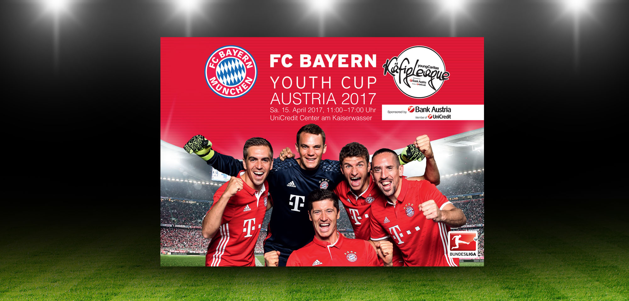 fc bayern youth cup austria 2017 sport. Black Bedroom Furniture Sets. Home Design Ideas
