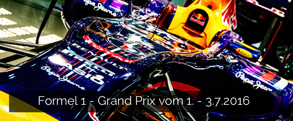 Formel 1 Grand Prix 2016 Red Bull Ring