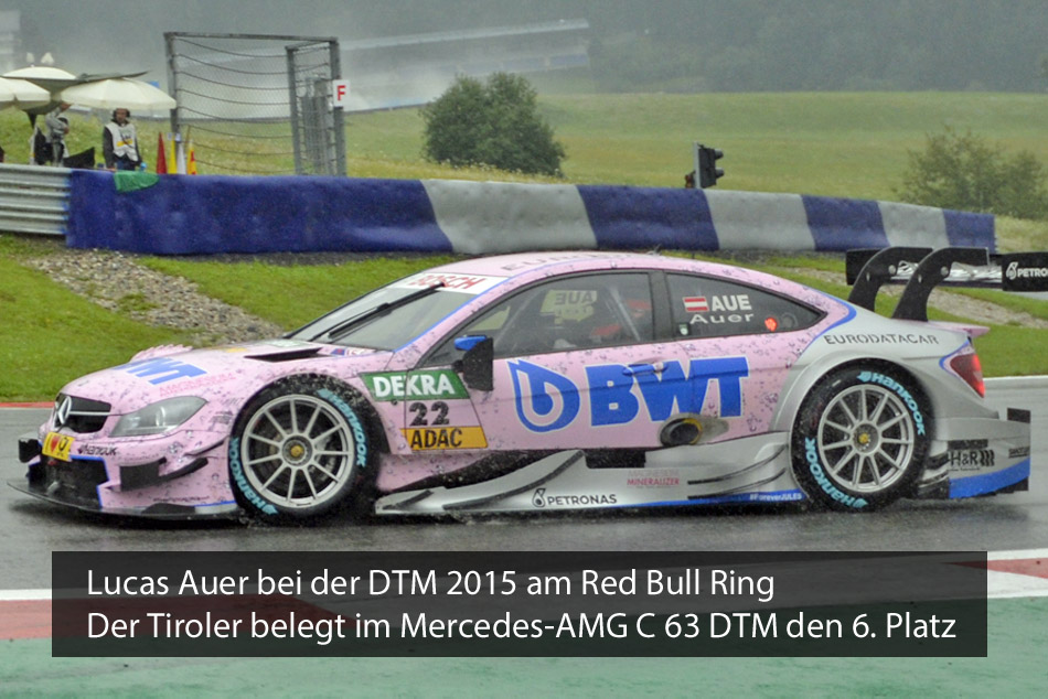 Lucas Auer DTM 2015 Red Bull Ring