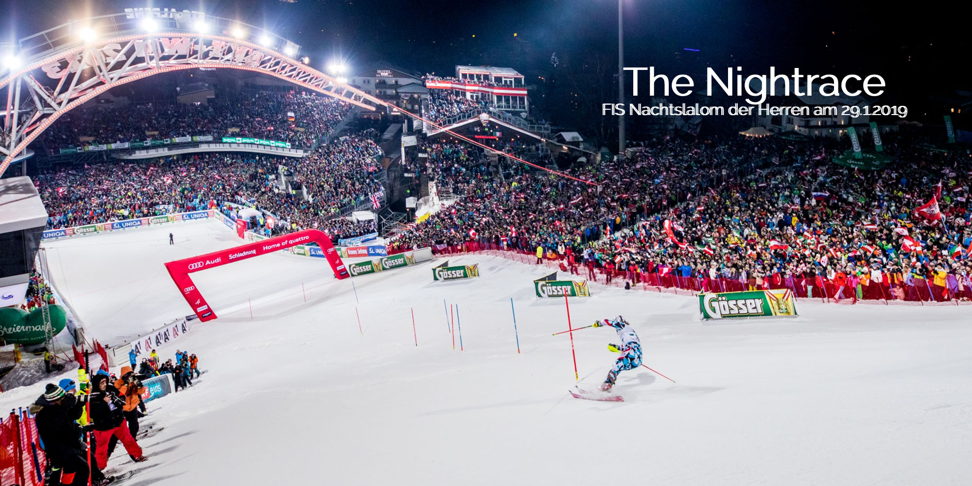 The Nightrace - FIS Nachtsalom der Herren 2019 in Schladming - Planai