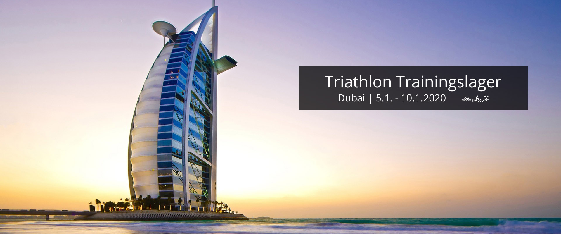 Triathlon Trainingslager Dubai 2020