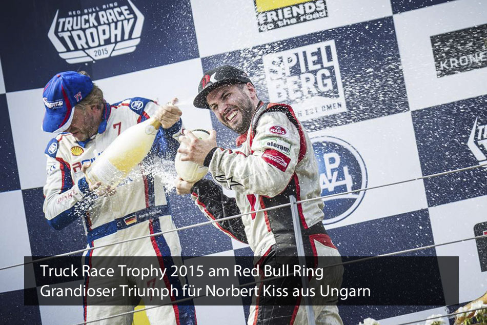 Truck Race Trophy 2015 am Red Bull Ring