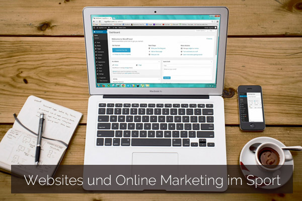 Websites und Online Marketing im Sport