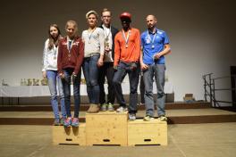 Siegerehrung Adventlauf Grafenegg 2014