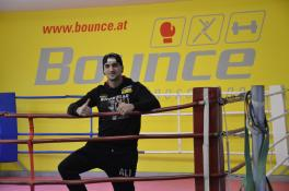 Marcos Nader im Boxclub Bounce