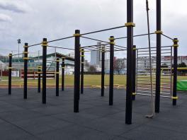 Achim's Trainingsplatz in 1200 Wien am Sportplatz des WAT Brigittenau