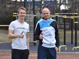 Achim Gölles und Markus Steinacher von sport-oesterreich.at