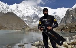 Christian Redl - Weltrekord im Freitauchen auf 5.160 Meter Seehöhe