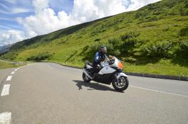 Motorradfahren auf der Großglockner Hochalpenstraße