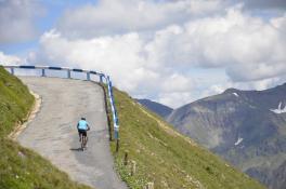 Großglockner Hochalpenstraße - Radtour zur Edelweißspitze