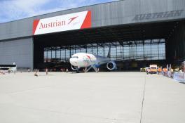 Boeing 777 Blue Danube Austrian Airlines