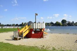 Spielplatz im Bundesbad Alte Donau