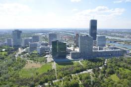 Donauturm - Ausblick nach Süden