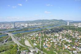 Donauturm - Ausblick nach Norden