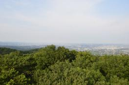 Josefswarte - Blick in den Osten