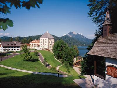 Schloss fuschl fuschlsee sport for Designer hotel salzburg