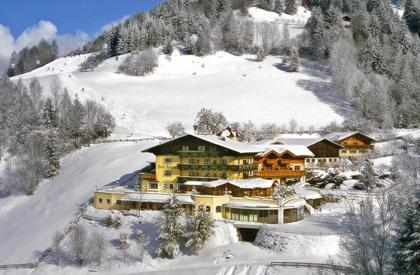 Hotel Alpenhof im Winter