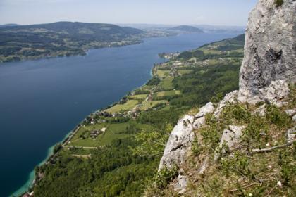 Klettersteig Mahdlgupf : Fotogalerie tourfotos fotos zur klettersteig tour attersee