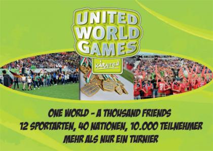 Präsentation der United World Games