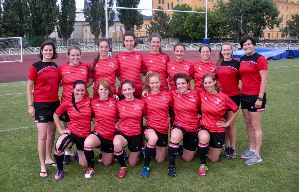 Sensationeller Aufstieg des Frauen-Rugby 7s Nationalteam in der Rugby Europe Trophy