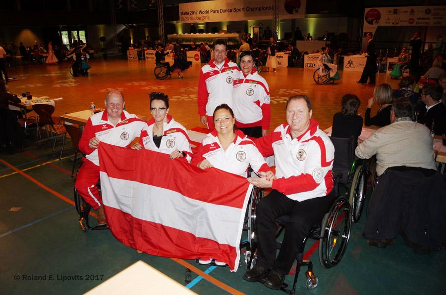 Austrian Wheelchairdancesportteam 2017