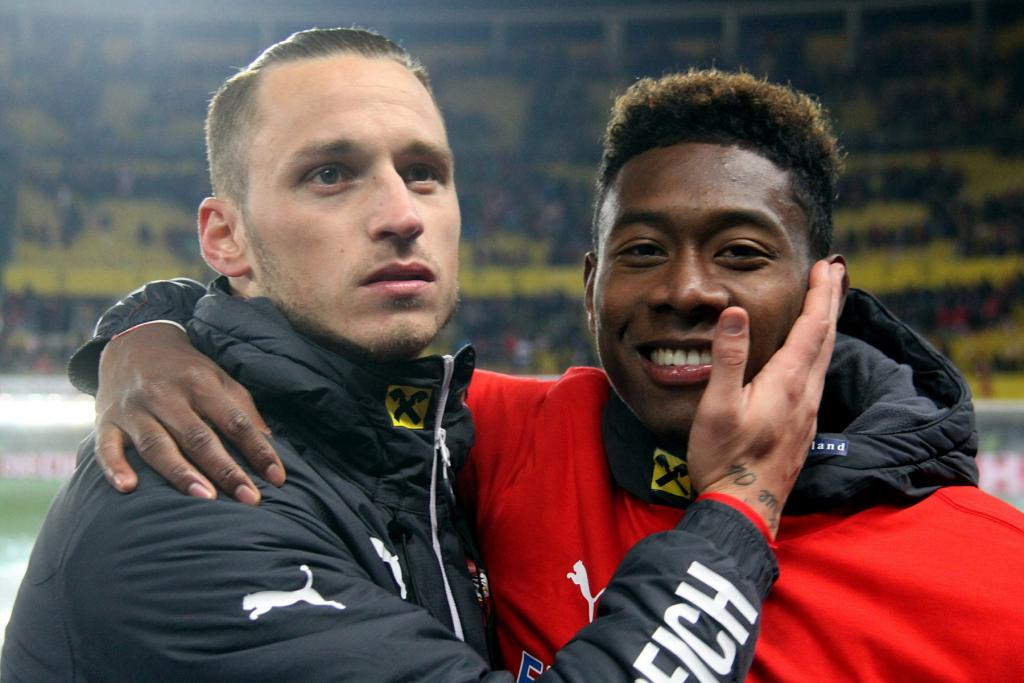 Marko Arnautovic und David Alaba