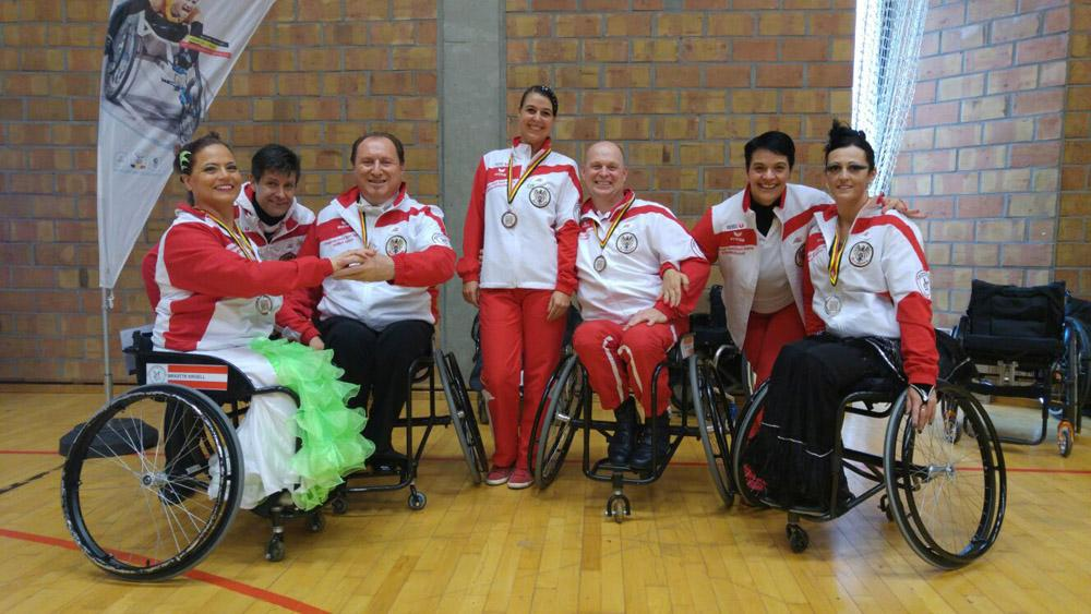 IPC Belgian Open 2016 - Austrian Wheelchairdancesportteam