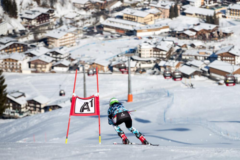 Mirijam Puchner Ski WM St.Moritz - Training in Saalbach