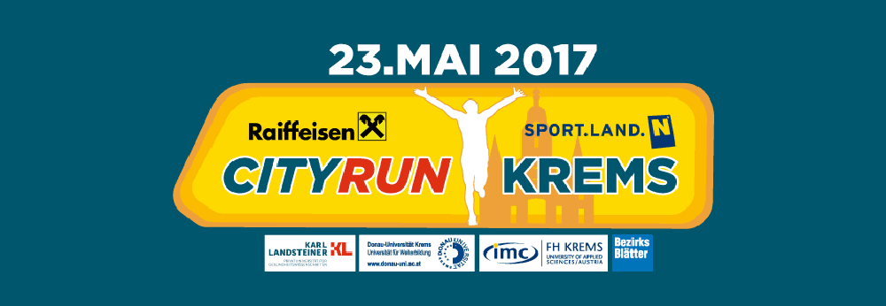 NÖ City Run Krems am 23. Mai 2017