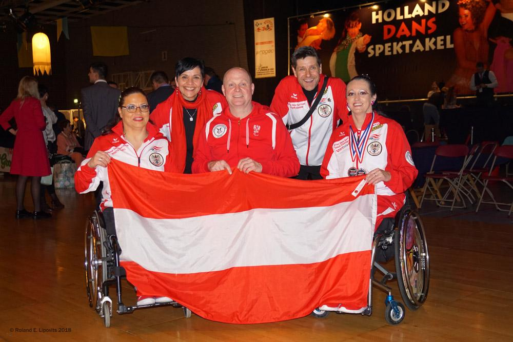 Holland Dans Spektakel in Cuijk - IPC-Wettbewerb 2018 - Para Dance Sport International Competition