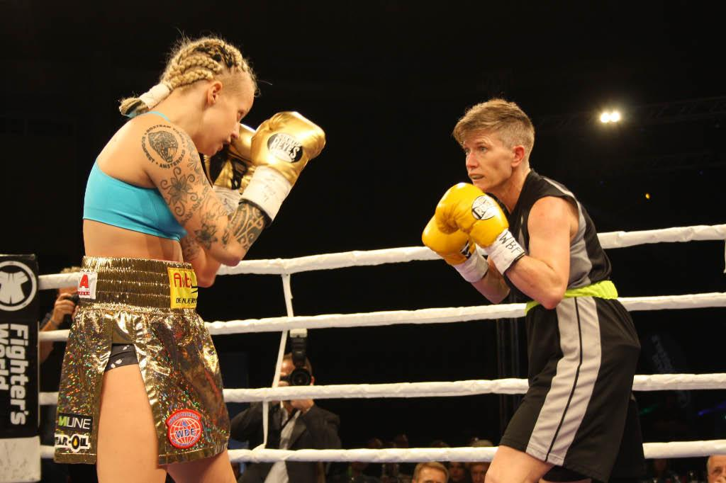 WM-Fight Titelverteidigung Eva Voraberger vs Renata Domsodi