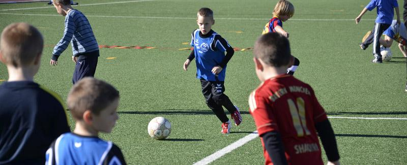 Kinderfussballtraining