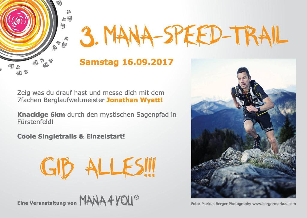 3. Mana Speed Trail am 16.9.2017