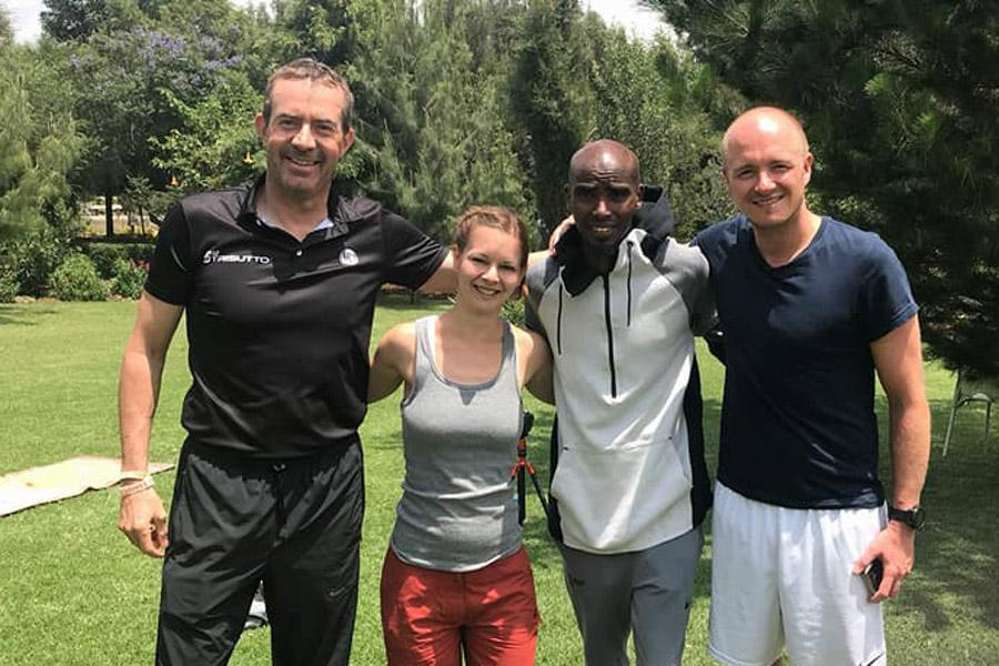 Mo Farah - Training in Yaya Village