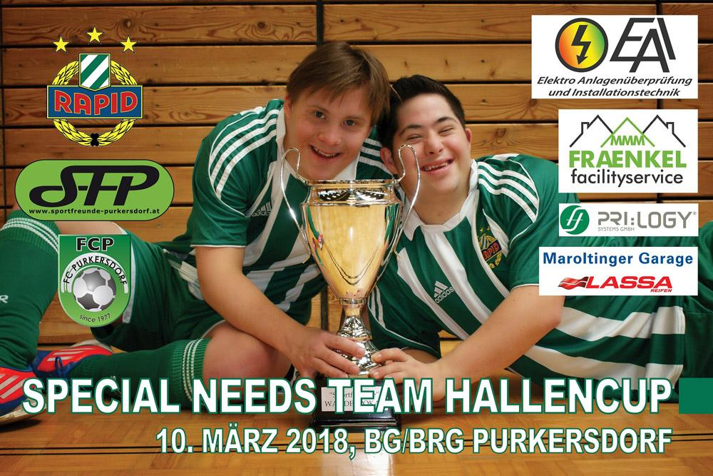 Special Needs Team Hallencup am 10. März 2018 in Purkersdorf