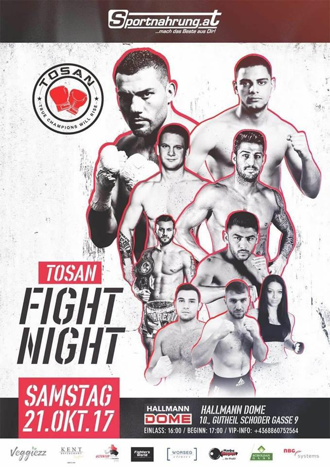 Tosan Fight Night 2017