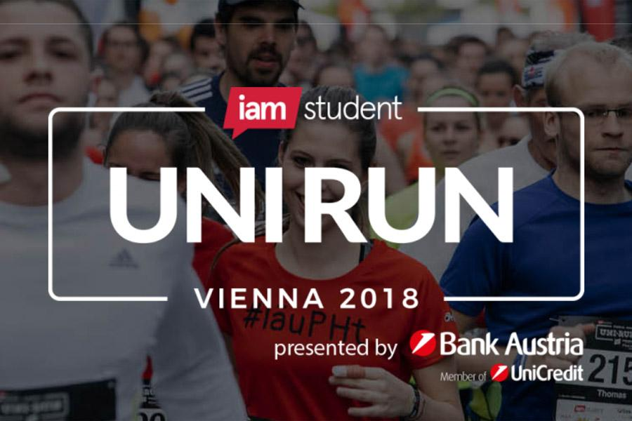 iamstudent Vienna UNI RUN am 16.Mai 2018