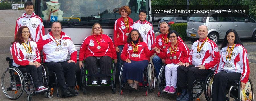 Austrian Wheelchairdancesportteam